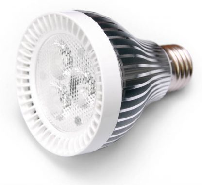 6W LED valo E27 kantaan