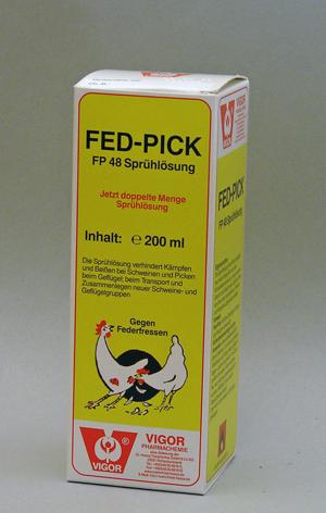 Fed-Pick, nokkimisenesto, ruiskuliuos 200ml