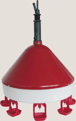 Säiliöön kytkettävä juoma-automaatti 8:lla juomakupilla, riipustettava