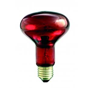 Infrapuna lämpölamppu 100W E27 - Punainen