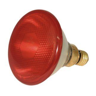 Kerbl infrapuna lämpölamppu punainen 100W - Puristelasi
