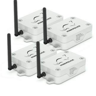MinkPolice - GSM loukkuhälytin - 4kpl tarjouspaketti