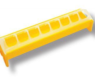 Novital tipujen ruokintakaukalo 30cm, keltainen