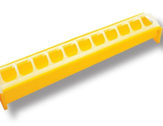 Novital tipujen ruokintakaukalo 40cm, keltainen