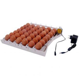 Automaattinen kääntölaite 42 munalle