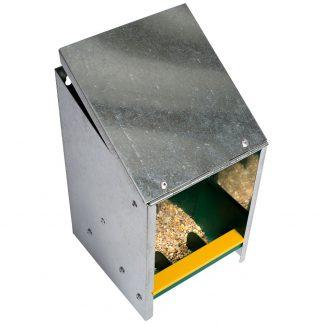 Sinkkipäällystetty ruokinta-automaatti - 2.5kg