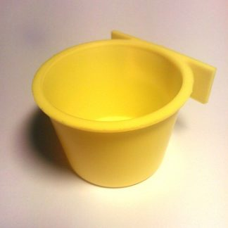 Heka keltainen juoma-/ruokakuppi