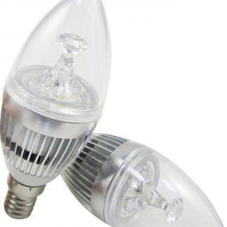 9W LED E14 - ultrakirkas lamppu