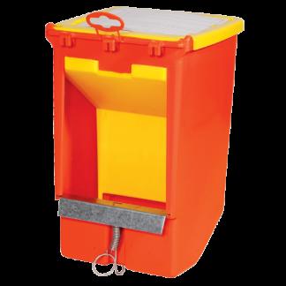 Novital ruokinta-automaatti kanille - kannellinen