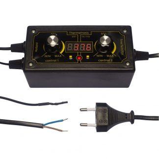 Elektroninen termostaatti max. 400W digitaalinen