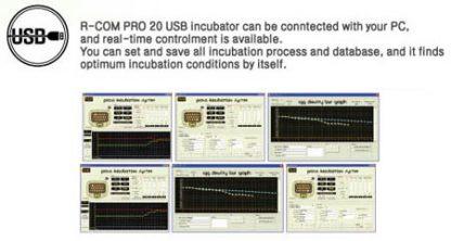 Rcom PRO 20 USB -täysautomaatti