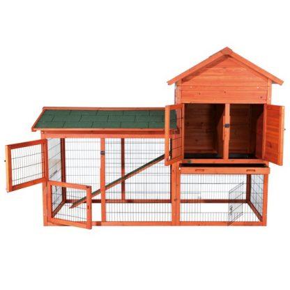 Chickvilla XL - Suurempi kana- ja kanitalo katteella