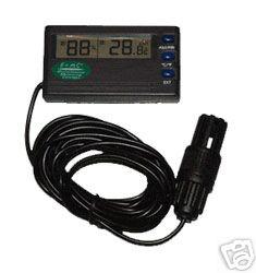 Digitaalinen lämpö- ja kosteusmittari - Ulkoisella sensorilla