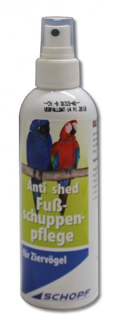 Anti shed - kalkkijalka spray 200 ml